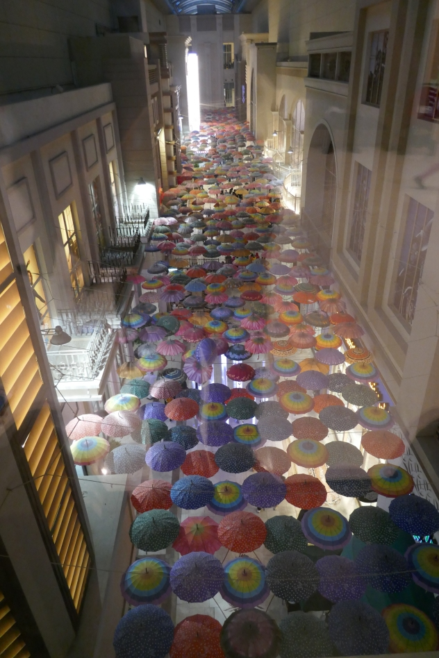 une des rues intérieure du Mall