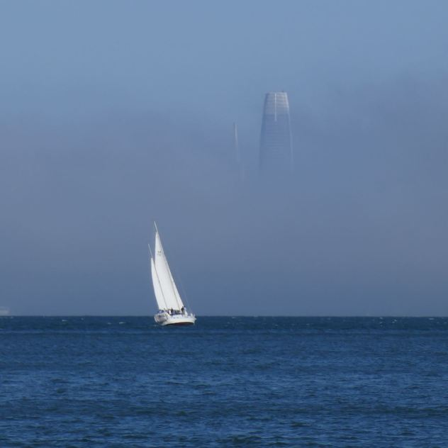 Sausalito vue sur San Franciso